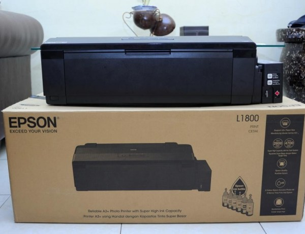 ** Epson L1800 A3+ 6 col, Inktank Printer + Izumi Inks  Pay via Bank Deposit