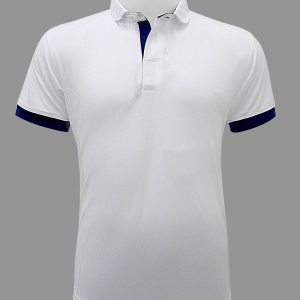 TPL 2 Polo shirt with Blue trim